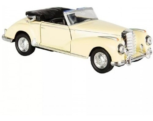 Auto Mercedes Benz 300 S 1955 Esc 1:38 Coleccion Metal