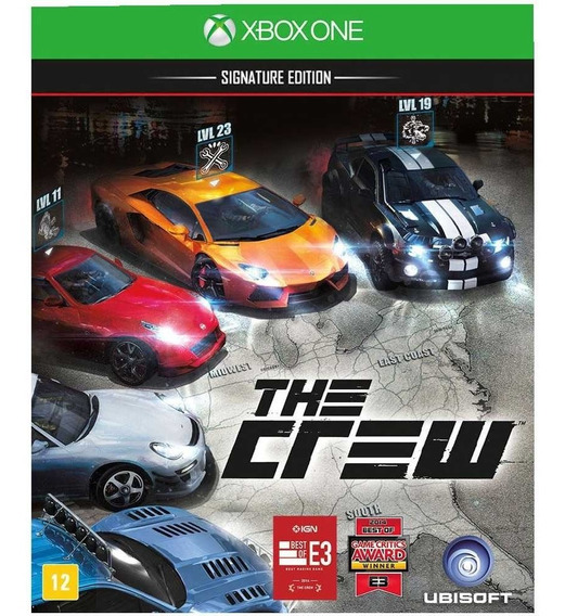Jogo The Crew Signature Edition Xbox One