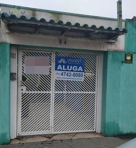 Casa Para Alugar, 77 M² Por R$ 3.500,00/mês - Conjunto Residencial Irai - Suzano/sp - Ca0257