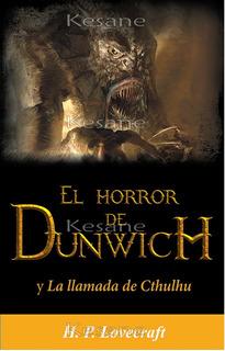 H.p Lovecraft El Horror De Dunwich Libro En Español Cuentos