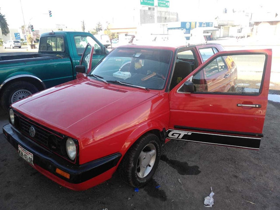 Volkswagen Golf Motor 1.8 Modelo 92 Color Roja