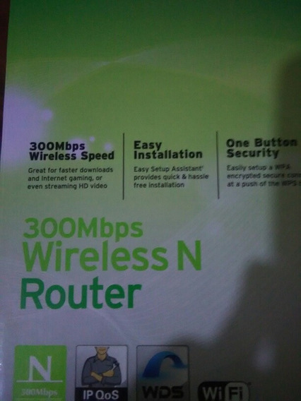 Router Wifi Tp-link 300mbps 2 Antenas