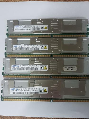 Memória 4gb 2rx4 Pc2- 5300f Samsung Valor Por Unidade