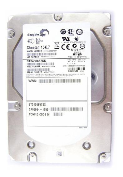 Hdd Servidor 450gb Sas St3450857ss 3.5 15k Hp Dell Ibm