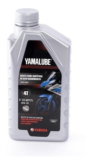 Aceite Yamalube 10w40 Semisintetico 1 Litro