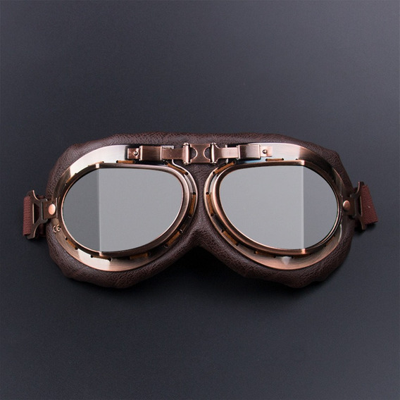 Óculos De Proteção Da Motocicleta Motocross Piloto Retro