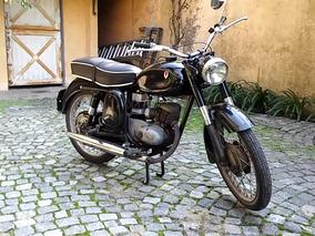 Moto Dkw Rt 125 Impecable! Clásica -titular Papeles Al Día.
