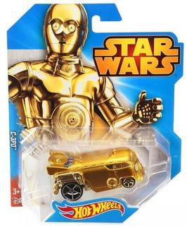 Miniatura Hot Wheels C-3po - Série Star Wars !!!