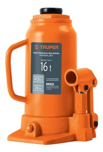 Gato Hidraulico T. Botella 16 Ton Truper 14820