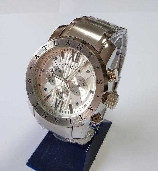 Relógio Masculino Original Atlantis A-3310 Frete Grátis.