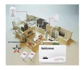 Alarme Sem Fio Residencial Casa Escritorio Gsm Chip Sensor
