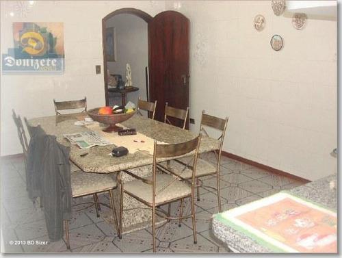 Sobrado Com 4 Dormitórios À Venda, 424 M² Por R$ 851.000,00 - Vila Metalúrgica - Santo André/sp - So1022