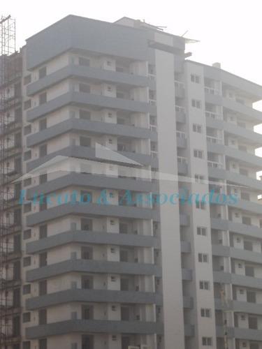 Apartamento Novo E Pronto Para Morar Na Vila Guilhermina Em Praia Grande Sp,  03 Dormitórios Sendo 02 Suítes, Sacada Gourmet, 02 Vagas De Garagem - Ap00284 - 2581566