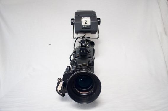 Color Video Camera Dxc-537a + Camera Adaptor Ca-537
