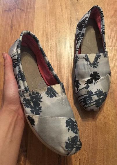 Padrisimos Zapatos Flats Toms Summer Edition 100% Originales