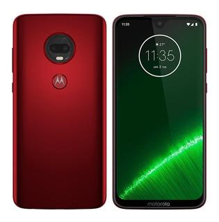 Smartphone Motorola Moto G7 Plus Rubi, Tela 6,24 , 64gb
