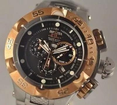 Relógio Tg5318 Invicta 12880 Subaqua Original Aço Inoxidavel
