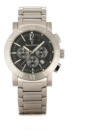 Relógio Pulso Jean Vernier Cronógrafo Masculino Jv00250