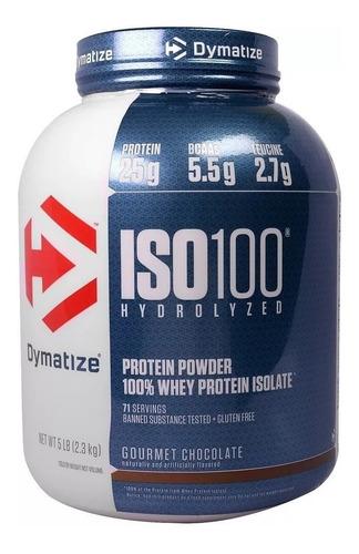 Iso 100 Dymatize Whey Protein 2,3kg 5lb Validade: 2020