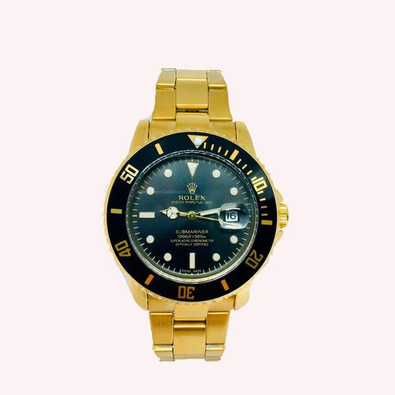 Relógio Rolex Automático+caixa De Brinde Rolex+frete Grátis