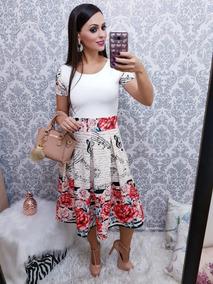 Vestido Feminino Gode Moda Evangélica Roupas Feminina