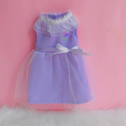 Vestido Lila Para Muñeca O Duende Magico