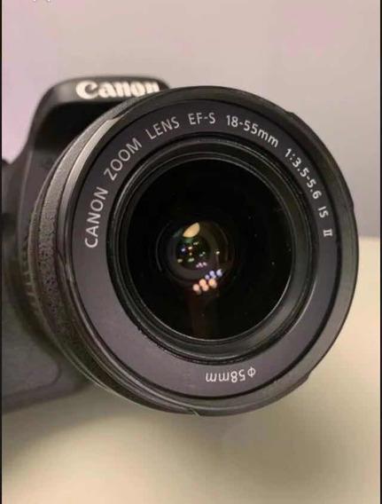 Camera Canon T3i + Lente 18-55mm + Bag Proteção +memory Card