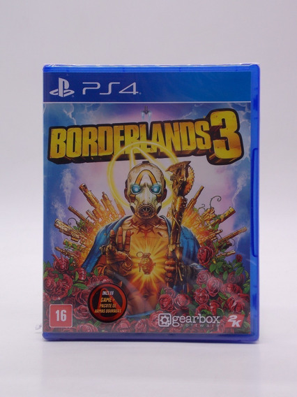 Borderlands 3 Play Station 4 Original Mídia Física Novo