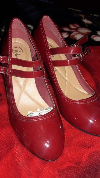 Zapatos Taco Alto N 37