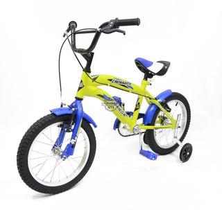 Bicicleta Infantil Topmega Crossboy R12 Con Rueditas!