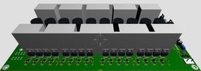 Projeto Inversor Senoidal Pura De 32 Mosfet 3200w À 6200w