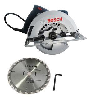 Sierra Circular Bosch 1500 Watts Disco 184mm Gks 150 Madera