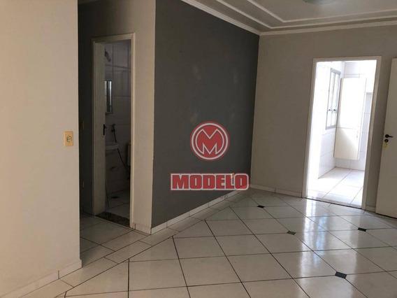 Apartamento Com 3 Dormitórios Para Alugar, 71 M² Por R$ 650/mês - Paulista - Piracicaba/sp - Ap2962