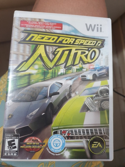 Jogo De Wii Need For Speed (nitro)