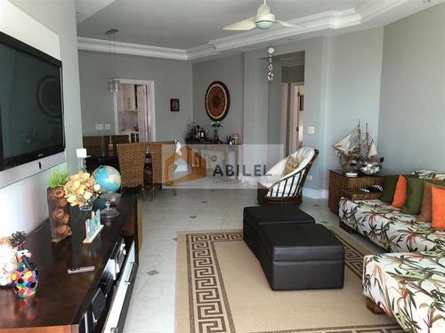 Imagem 1 de 9 de Apartamento Na Praia Da Enseada, Guarujá - 7120
