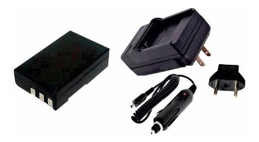 Bateria + Carregador Para Camera Nikon Dslr D40x D60 D5000