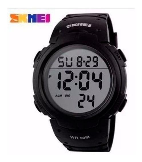 Relógio Esportivo Preto Skmei 1068 Original Digital
