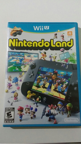 Nintendoland Usado Americano Mídia Física Nintendo Wii U