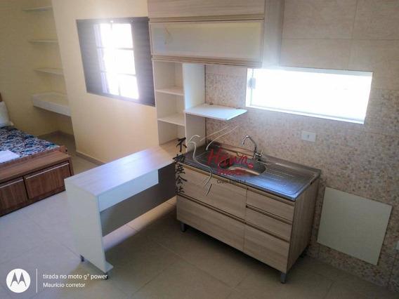 Flat Com 1 Dormitório Para Alugar, 20 M² Por R$ 1.200,00/mês - Jardim Cidade Pirituba - São Paulo/sp - Fl0002