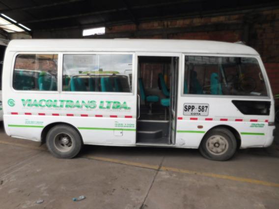 Buseta Jac 2007 Original 24 Psj Servicio Especial Con Cupo