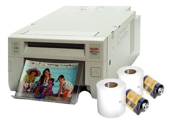 Kit Impressora Fotográfica Kodak 305 + 10 Papel E Ribbon
