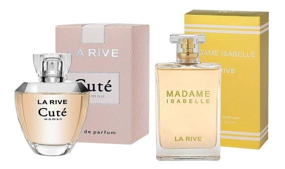Kit Perfume Cuté 100ml + Madame Isabelle 90ml La Rive