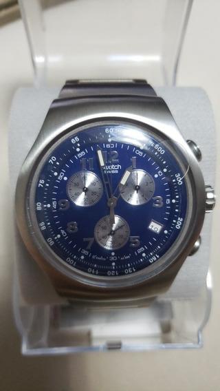 Relógio Swatch Original, Nunca Usado E De Lindo Design.
