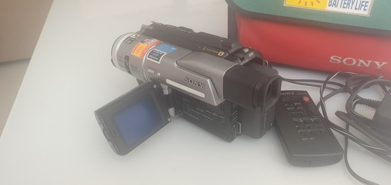 Filmadora Digital Sony Dcr Trv-110 Com Defeito (cabo Flat)