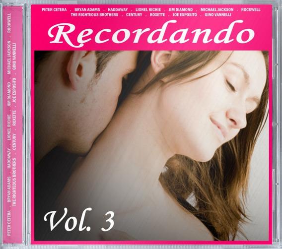 Recordando Vol. 3 - Cd Lacrado Rsa Music