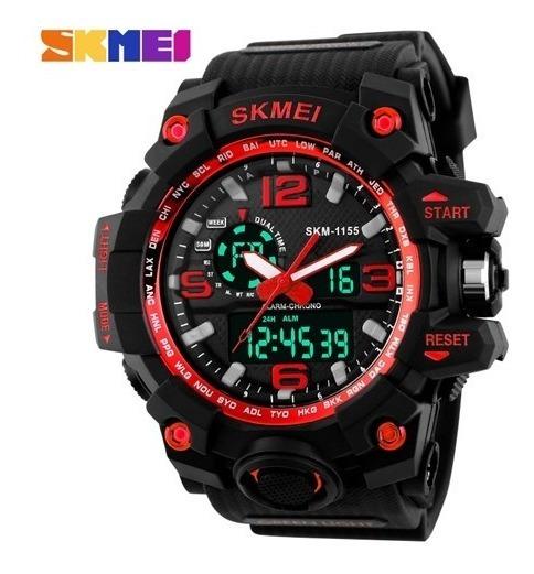 Relógio De Pulso Esportivo Masculino Skmei 1155 Frete Grátis