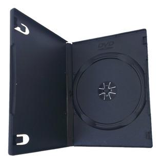 Cajas Dvd Slim Negra X 10 Unidades