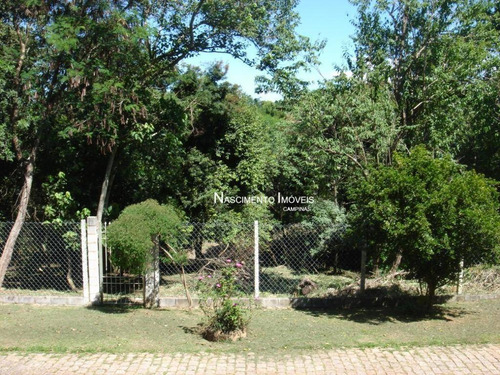 Terreno Amplo À Venda, 4037 M² Por R$ 1.194.000 - Parque Jatibaia (sousas) - Campinas/sp - Te0061