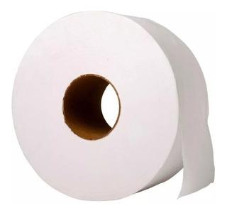 Papel Higiénico Blanco Tissue 8 Unid. X 300 Mts Dispenser