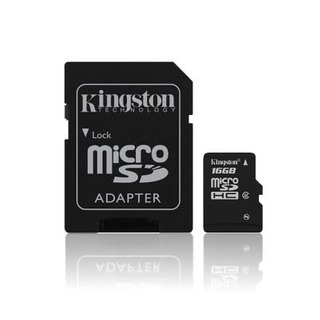 Memoria Micro Sd Kingston 16gb - Clase 4